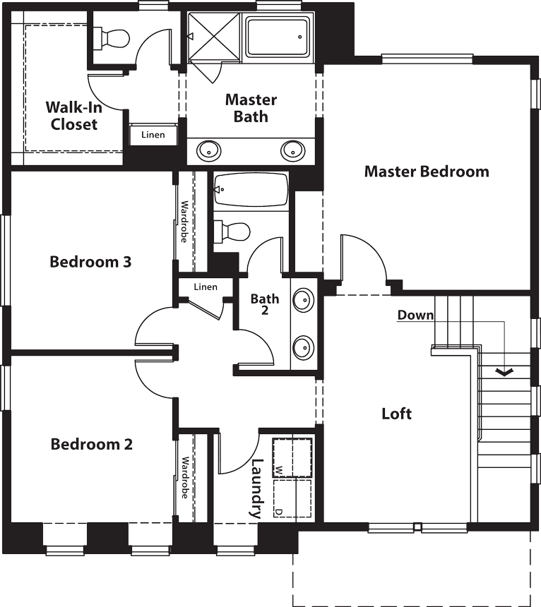 Coventry | Residence One Second Floor