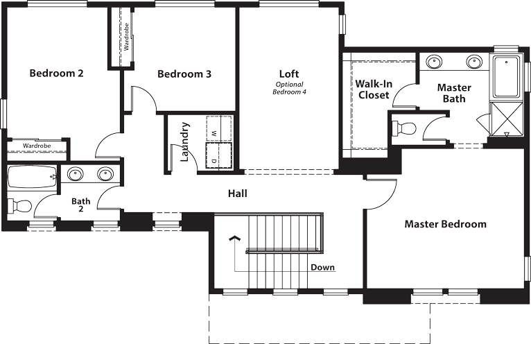 Coventry | Residence Two Second Floor