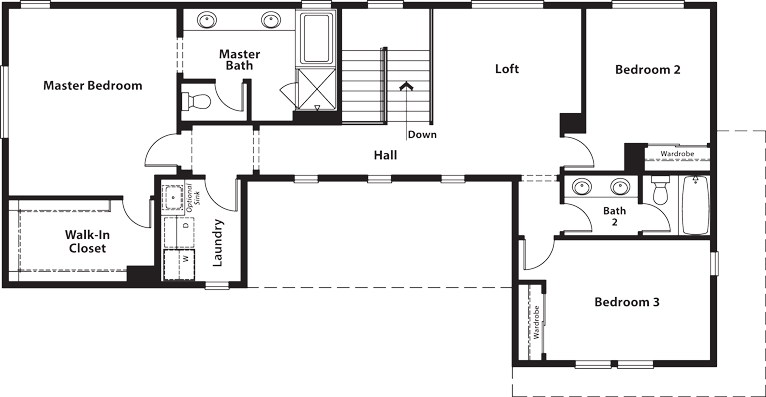Coventry | Residence Three Second Floor