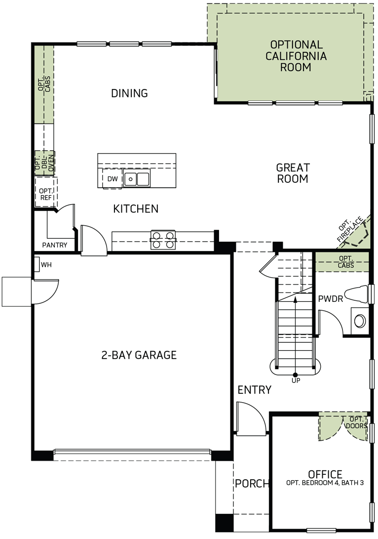 Stonewater | Residence One First Floor