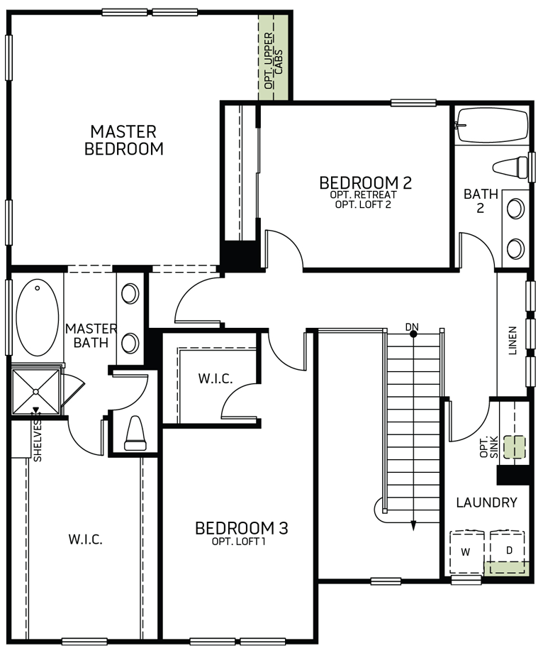Stonewater | Residence One Second Floor