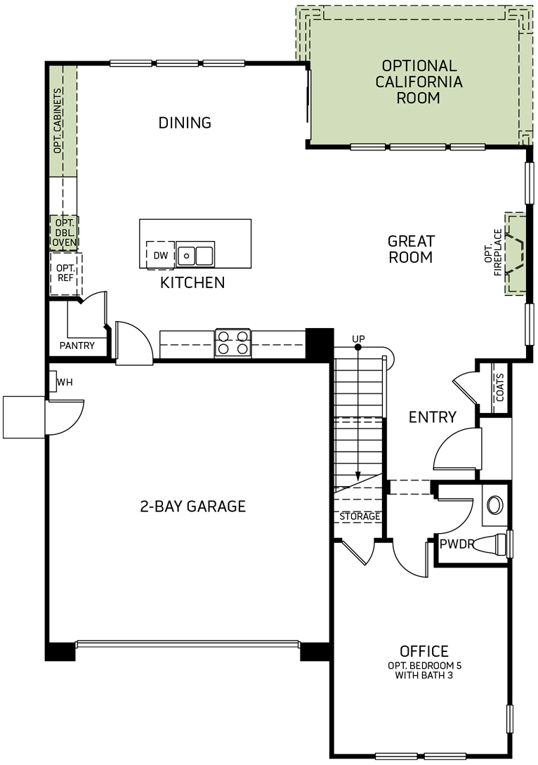 Stonewater | Residence Three First Floor