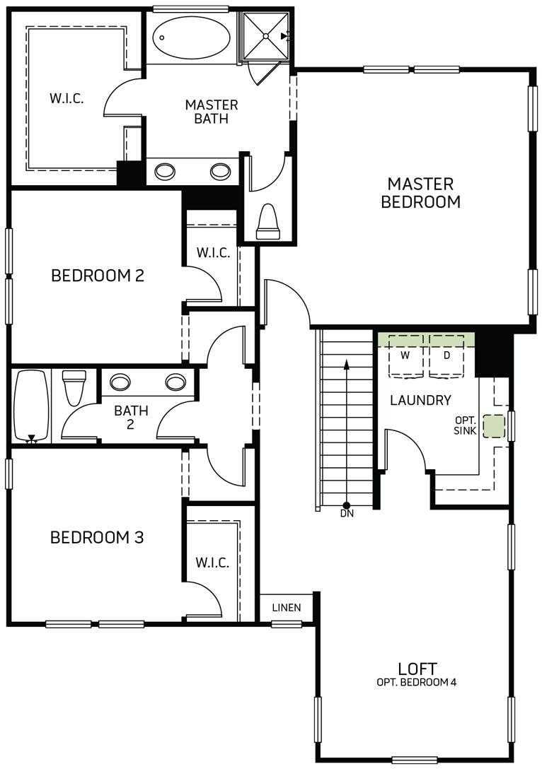 Stonewater | Residence Three Second Floor