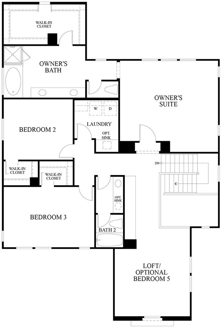 Mariposa | Residence 2 Second Floor